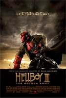Hellboy 2: The Golden Army Cover